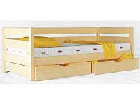 """Кровать Амели детская кровать (ТМ """"Аурель"""" ТМ""""Олимп"""") из дерева, бук"""