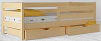 """Кровать Амели Экстра - детская кровать (ТМ """"Аурель"""" ТМ """"Олимп"""")из дерева, бук"""