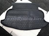 Коврик в багажник на GEELY Emgrand хетчбэк (AVTO-GUMM) резина+пластик