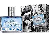 Мужская парфюмированная вода Donna Karan Love from New York Men 100 ml (Лав фром Нью Йорк Мен)