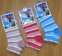 Короткие носки женские в полоску. Размер: 36-42