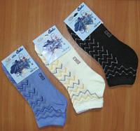 "Летние женские носки ""Ажур"""