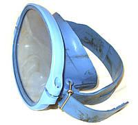 Маска для подводного плавания Акванавт, Синяя (мягкая резина)