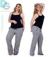Комплект штаны+майка больших размеров