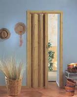 Дверь гармошка глухая дуб 269