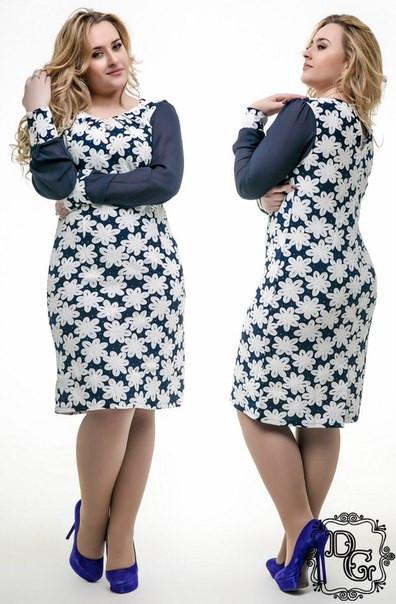 Мода большие размеры женской одежды