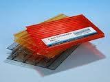 Пластиковый шифер волнопласт красный