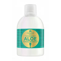 Kallos KJMN Aloe Shine Шампунь для роста и шелковистости волос с экстрактом алоэ вера, 1000 мл