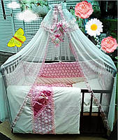 Детское постельное белье Bonna Lux розовый, Харьков