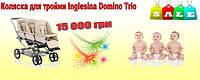 Коляска для тройни Inglesina Domino Trio