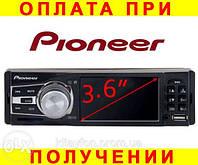 Автомагнитола Pioneer 3610 1DIN с экраном 3,6