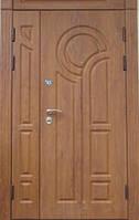 Полуторные входные двери Портала модель Рим ПВХ Винорит