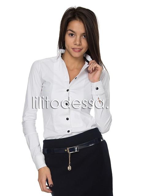 Купить Белую Блузку Офисную В Спб