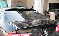 Lip spoiler (лип спойлер-сабля) Volkswagen passat b6 (фольксваген пассат б6) 2005-2011