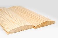 Блок-хаус Сосна 3000х125х35 (І-й сорт)