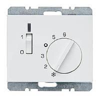 Регулятор температуры помещения 24В Berker K.1 Полярная Белизна (20317109)