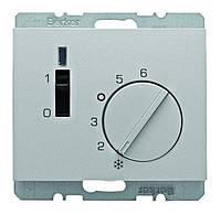 Регулятор температуры помещения 24В Berker K.5 Алюминиевый Лак (20317103)