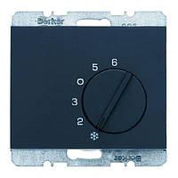 Регулятор температуры помещения 250В Berker K.1 Антрацит (20267106)