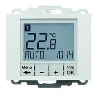 Регулятор температуры с часовым механизмом 250В Berker K.1 Полярная Белизна (20447109)