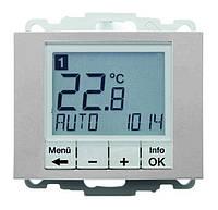 Регулятор температуры с часовым механизмом 250В Berker K.5 Алюминиевый Лак (20447103)