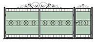Ворота кованные модель ВК-09