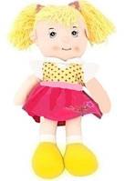 Музыкальная кукла с косами мягкая R1520F