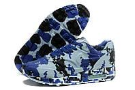 Кроссовки камуфлированные Nike Air Max 87 VT синий пиксель