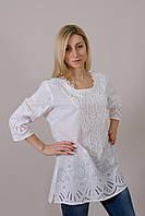 Женская блуза белого цвета