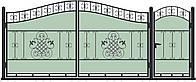 Ворота кованные ВКГ-08