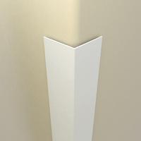 Уголок ПВХ, 20х20х2700 мм., белый