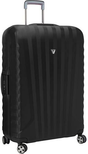 Дорожный большой пластиковый чемодан 95 л. Roncato UNO SL 5141/01/01 черный