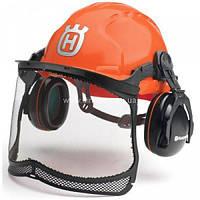 Защитный шлем Husqvarna с наушниками и маской