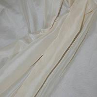 Тюль вуаль-шелк кремовий мус