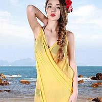 Яркое парео по приятной цене, надевается на плечи, порадует девушек своей элегантностью, пляжная одежда