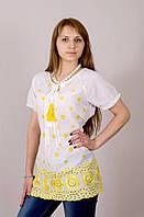 Хлопковая женская летняя блуза