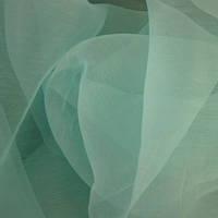 Органза-батист соната голубая ель