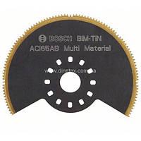 Сегментированный пильный диск Bosch BIM-TiN ACI 65 AB для Multi-Cutter