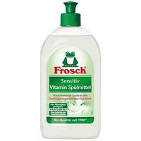 Моющее средство для посуды Frosch бальзам - концентрат для чувствительной кожи 500 мл