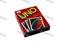 Настольная карточная игра Uno Уно, пластиковые