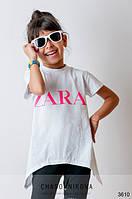 Детская туника для девочки Zara белый