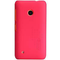 Чехол Nillkin для Nokia Lumia 530 красный (+пленка)