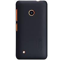 Чехол Nillkin для Nokia Lumia 530 чёрный (+пленка)