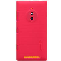 Чехол Nillkin для Nokia Lumia 830 красный (+пленка)