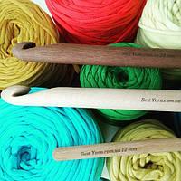 Крючок для вязания деревянный 30 мм