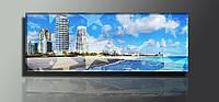 """Панорама. Панно """"Пляж"""". Картина на холсте."""