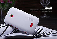 Чехол Nillkin для Nokia Lumia 510 белый (+пленка)