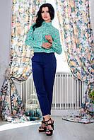 Отличные летние брюки модного цвета р42