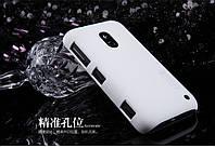 Чехол Nillkin для Nokia Lumia 620 белый (+пленка)