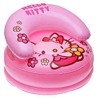 Детское надувное кресло Hello Kitty Intex 48508