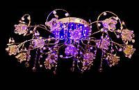 Люстра галогенная со светодиодной подсветкой , пультом 8222-16